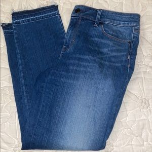 WHBM alum jeans .  Size 6